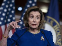 House Speaker Nancy Pelosi, D-Calif., speaks during a news conference on Capitol Hill in Washington, Thursday, March 5, 2020. (AP Photo/J. Scott Applewhite)