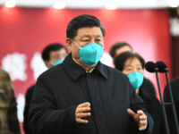 In this photo released by China's Xinhua News Agency, Chinese President Xi Jinping talks by video with patients and medical workers at the Huoshenshan Hospital in Wuhan in central China's Hubei Province, Tuesday, March 10, 2020. China's president visited the center of the global virus outbreak Tuesday as Italy began …