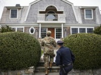 Rhode Island National Guard Conducts Door-to-Door Checks