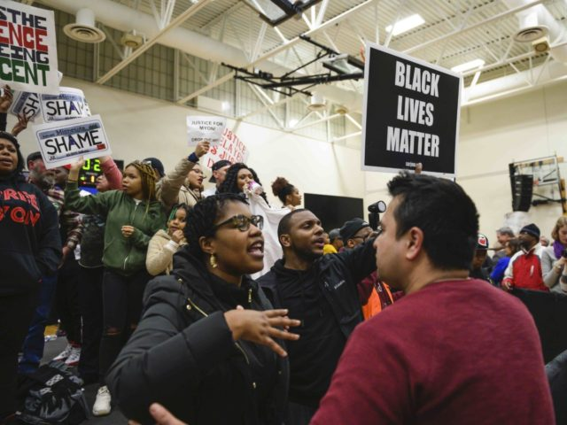 Amy Klobuchar rally Black Lives Matter (Stephen Maturen / Getty