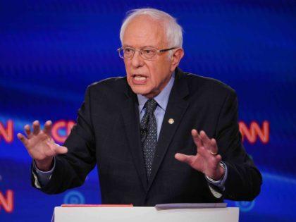Bernie Sanders debate (Mandel Ngan / AFP / Getty)
