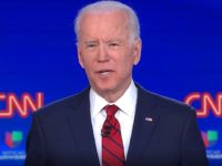 Joe Biden during 3/15/2020 CNN Democratic debate