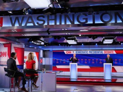 CNN Debate (Mandel Ngan / Getty)