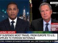 Don Lemon, John Kasich on CNN, 3/11/2020