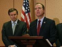 Chris Murphy and Adam Schiff (Mark Wilson / Getty)