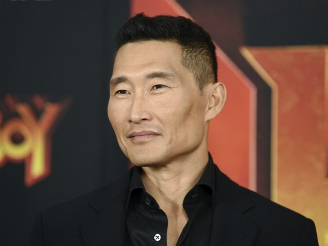 "Actor Daniel Dae Kim attends a special screening of ""Hellboy"" at AMC Lincoln Square on Tuesday, April 9, 2019, in New York. (Photo by Evan Agostini/Invision/AP)"