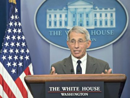 Dr. Anthony Fauci Speaks at White House