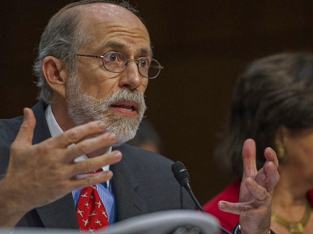 "Frank Gaffney testifies at the US Senate Judiciary Committee, The Constitution, Civil Rights and Human Rights Subcommittee hearing on ""Closing Guantanamo: The National Security, Fiscal, and Human Rights Implications."", July 24, 2013, on Capitol Hill in Washington, DC. AFP PHOTO/Paul J. Richards (Photo credit should read PAUL J. RICHARDS/AFP via …"