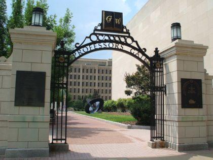 George Washington University gate