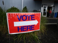 NEWARK, OH - AUGUST 07: Voters head to the polls at the Licking County Family YMCA to vote in the special election for Ohio's 12th District on Tuesday, August 7, 2018 in Newark, Ohio. Voters in Ohio's 12th Congressional District are choosing between Democrat Danny O'Connor and Republican Troy Balderson …