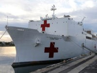 Donald Trump Opens Up USNS Comfort to Coronavirus Patients