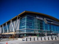 The Fiserv Forum is seen during a media walk through ahead of the Democratic National Convention in Milwaukee, Wisconsin, on January 7, 2020. - The 2020 Democratic National Convention in which delegates of the United States Democratic Party will choose the party's nominees for president and vice president in the …