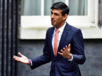LONDON, ENGLAND - FEBRUARY 13: Chief Secretary to the Treasury Rishi Sunak arrives at Downing Street on February 13, 2020 in London, England. The Prime Minister makes adjustments to his Cabinet now Brexit has been completed. (Photo by Leon Neal/Getty Images)