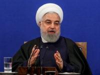 Iran's President Rouhani Celebrates Departure of 'Stupid Terrorist' Donald Trump