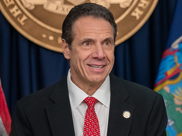 NEW YORK, NY - MARCH 2: New York state Gov. Andrew Cuomo and New York City Mayor Bill DeBlasio speak during a news conference on the first confirmed case of COVID-19 in New York on March 2, 2020 in New York City. A female health worker in her 30s who …