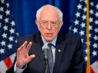 US Democratic presidential candidate Senator Bernie Sanders(I-VT) speaks to the press after loosing much of super Tuesday to US Democratic presidential candidate and former US Vice President Joe Biden the previous night, in Burlington, Vermont on March 11, 2020. - Senator Bernie Senator said March 11, 2020 he would take …