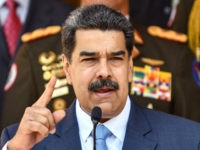 CARACAS, VENEZUELA - MARCH 12: President of Venezuela Nicolas Maduro speaks during a press conference at Miraflores Government Palace on March 12, 2020 in Caracas, Venezuela. Maduro announced a travel ban for travelers flying in from Europe and Colombia and restricted gatherings and massive events in an attempt to stem …