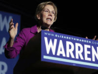 MONTEREY PARK, CALIFORNIA - MARCH 02: Democratic presidential candidate Sen. Elizabeth Warren (D-MA) delivers a campaign speech at East Los Angeles College on March 2, 2020 in Monterey Park, California. California is one of 14 states participating in the Super Tuesday vote on March 3. (Photo by Mario Tama/Getty Images)