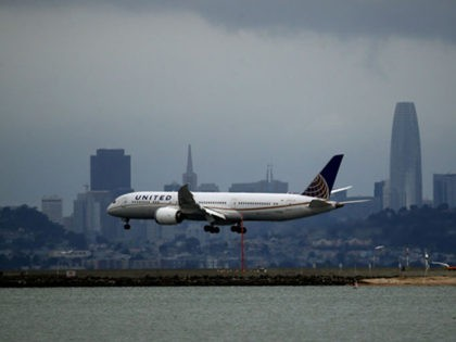 BURLINGAME, CALIFORNIA - MARCH 06: A United Airlines plane lands at San Francisco International Airport on March 06, 2020 in Burlingame, California. In the wake of the COVID-19 outbreak, airlines are facing significant losses as people are cancelling travel plans and businesses are restricting travel. Southwest Airlines says they expect …