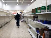 """SOUTHAMPTON - MARCH 18: Empty shelves are seen inside a Tesco supermarket on March 18, 2020 in Southampton, United Kingdom. After spates of """"panic buying"""" cleared supermarket shelves of items like toilet paper and cleaning products, stores across the UK have introduced limits on purchases during the COVID-19 pandemic. Some …"""