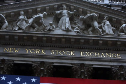 NEW YORK - JULY 21: The front facade of the New York Stock Exchange on July 21, 2009 in New York City. Federal Reserve Chairman Ben Bernanke, appearing before the House Financial Services Committee in his semi-annual testimony on the state of the economy, told lawmakers that the economy has …