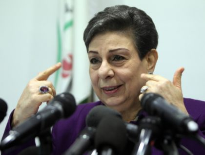 Hanan Ashrawi (Abbas Momani / AFP / Getty)