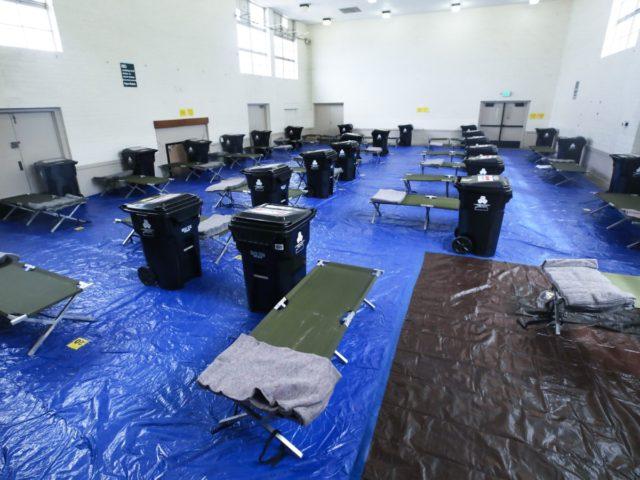 Homeless Rec Center (Mario Tama / Getty)