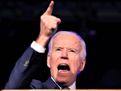 Democratic presidential candidate former vice president Joe Biden speaks at the Clark County Democratic Party 'Kick-Off to Caucus 2020' event on Februay 15, 2020, in Las Vegas. (AP Photo/John Locher)