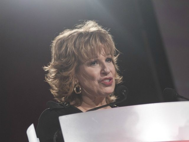 WASHINGTON, DC - DECEMBER 09: Joy Behar speaks during the AARP Magazine's 2011 Inspire Awards at Ronald Reagan Building on December 9, 2010 in Washington, DC. (Photo by Kris Connor/Getty Images)