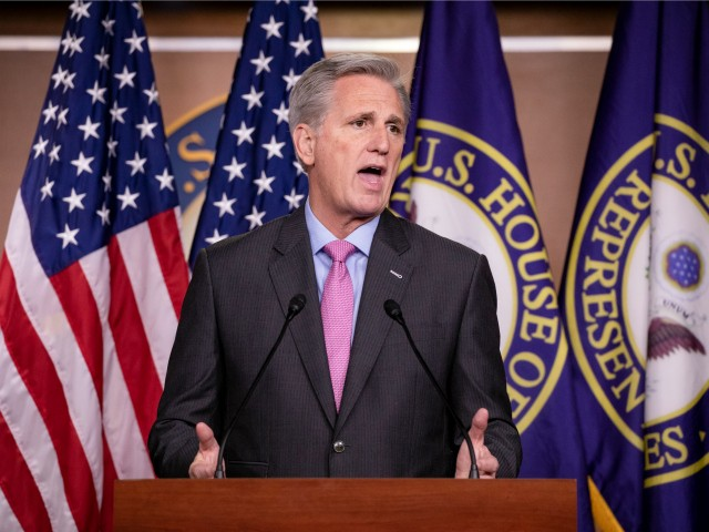 McCarthy: We Don't Know if Legally Joe Biden Could Stay in Office with Activity Involving Hunter Biden