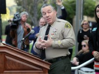 CALABASAS, CALIFORNIA - JANUARY 27: Los Angeles County Sheriff Alex Villanueva speaks at a news conference on the helicopter crash that yesterday claimed the lives of NBA great Kobe Bryant, his daughter Gianna, 13, and seven others January 27, 2020 in Calabasas, California. The group was traveling to Bryant's Mamba …
