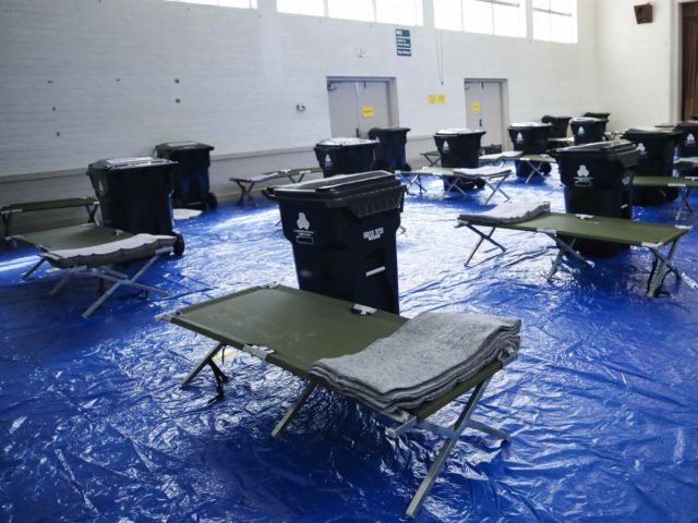 Los Angeles homeless rec center (Mario Tama / Getty)