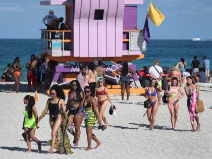 Miami Beach spring break (Joe Raedle / Getty)