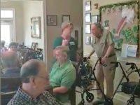 Nursing Home Sings God Bless America