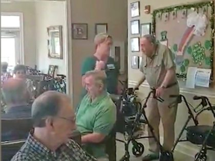 Nursing Home Sings God Bless America