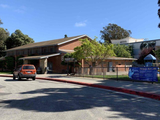 Palisades recreation center (Joel Pollak / Breitbart News)