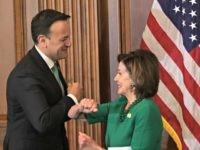 Pelosi Does Elbow Bump