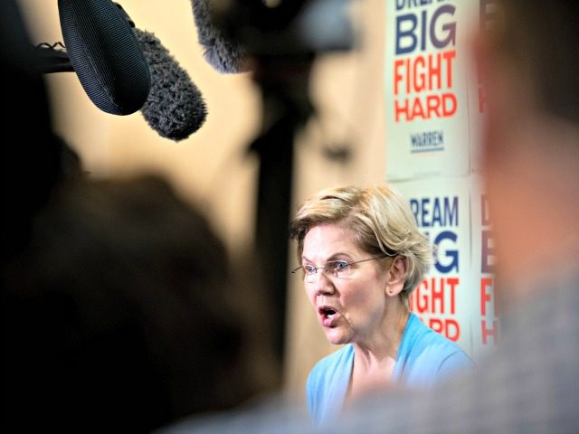 COLUMBIA, SC - FEBRUARY 29: Democratic presidential candidate Sen. Elizabeth Warren (D-MA) addresses a crowd during a canvassing kickoff event February 29, 2020 in Columbia, South Carolina. South Carolinians will participate in the Democratic presidential primary today. (Photo by Sean Rayford/Getty Images)
