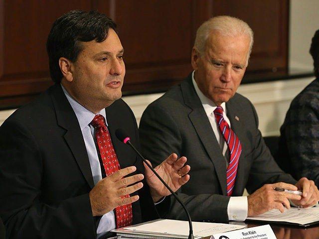 Ronald Klain and Joe Biden