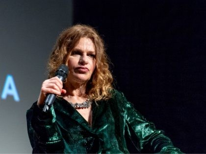 """NEW YORK, NY - APRIL 25: Sandra Bernhard attends """"The Gospel According To Andre"""" premiere and Q&A at BMCC Tribeca PAC on April 25, 2018 in New York City. (Photo by Roy Rochlin/Getty Images for Tribeca Film Festival)"""