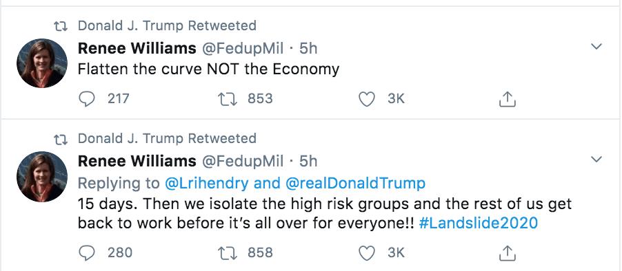 Donald Trump Retweet