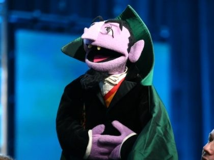 PASADENA, CA - JANUARY 21: Matt Vogel as the voice of Count Von Count performs onstage during the 'PBS Kids Update/Sesame Street 45th Season Anniversary' panel discussion at the PBS portion of the 2014 Winter Television Critics Association tour at Langham Hotel on January 21, 2014 in Pasadena, California. (Photo …