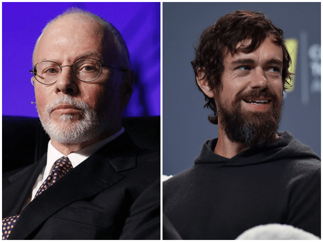 Paul Singer and Twitter CEO Jack Dorsey