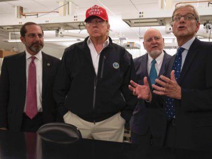 Trump CDC (Jim Watson / Getty)