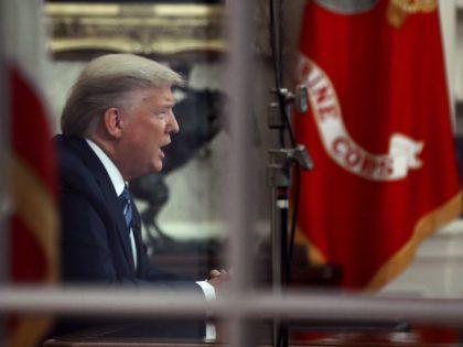 Trump Oval Office address (Mark Wilson / Getty)