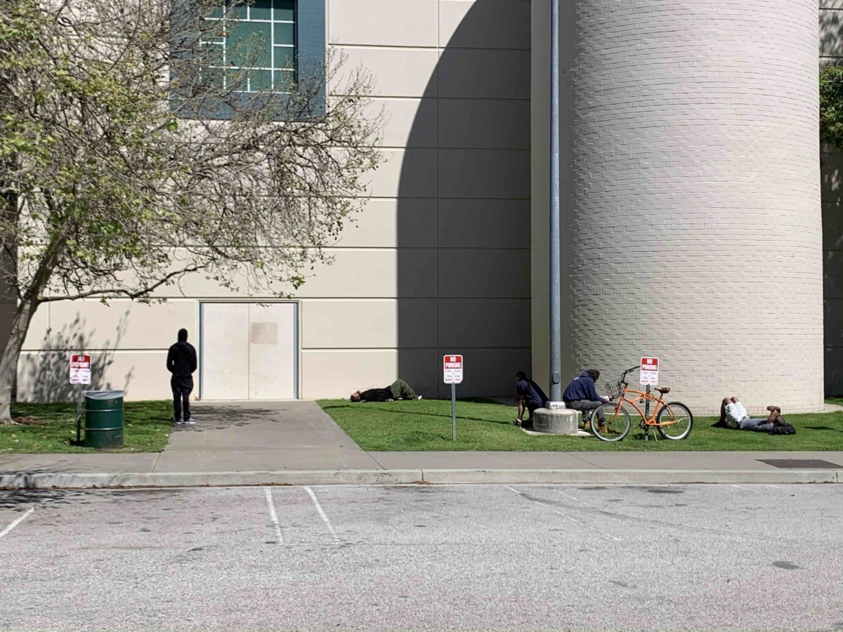 Westwood recreation center (Joel Pollak / Breitbart News)