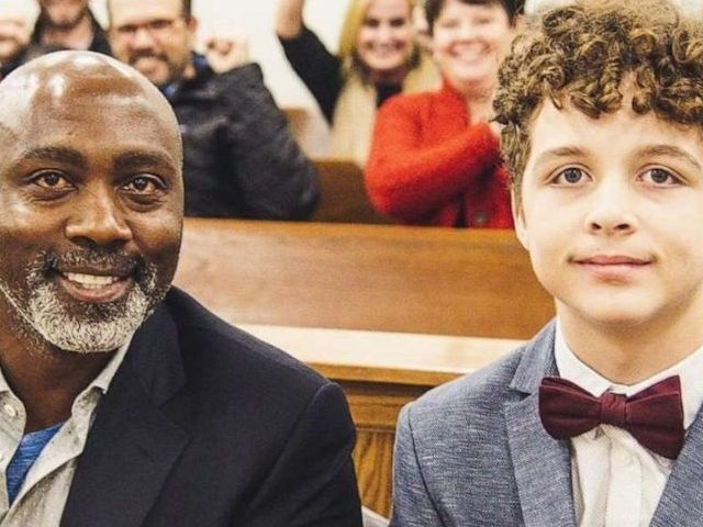 A teenage boy in Charlotte, North Carolina, found his forever home in November after his parents abandoned him in Oklahoma.