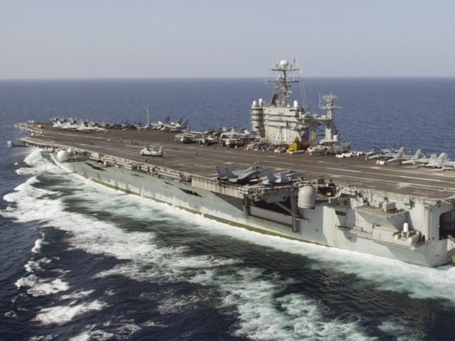 U.S. Navy Fights to Contain Aircraft Carrier Coronavirus Outbreak at Sea AP