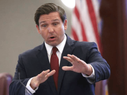 In this Tuesday, Oct. 29, 2019 file photo, Gov. Ron DeSantis speaks at pre-legislative news conference in Tallahassee, Fla. The 60-day Florida legislative session that begins Tuesday, Jan. 14, 2020, will have lawmakers considering everything from coconut patties to a state budget expected to exceed $90 billion. Lawmakers are also …