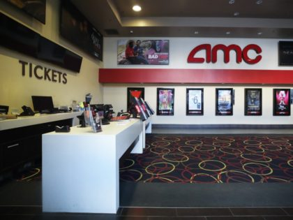 SANTA MONICA, CALIFORNIA - MARCH 17: The ticket area is empty in a closed AMC movie theater on March 17, 2020 in Santa Monica, California. AMC Theatres is closing all their theaters nationwide in response to the coronavirus (COVID-19) pandemic. (Photo by Mario Tama/Getty Images)